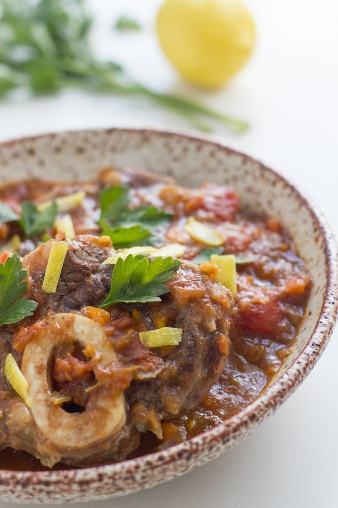 Slow Cooker Osso Bucco has to be one of the tastiest meals ever. The meat is so tender and is literally falling off the bone. It is always a winner when I make it for family and friends.