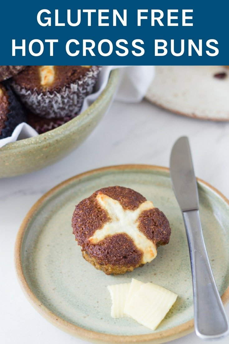Gluten Free Hot Cross Buns. The best thing about them is that they are so easy to make and taste AMAZING! You don't have to buy the additive and preservative loaded ones from the supermarket ever again!